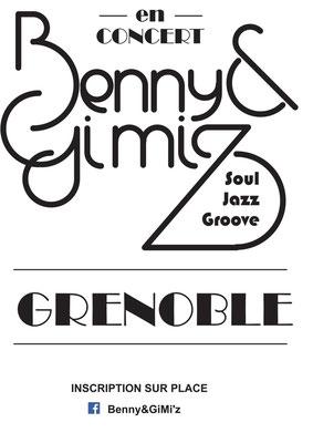logotype et affiche pour un groupe de musique de la scène grenobloise