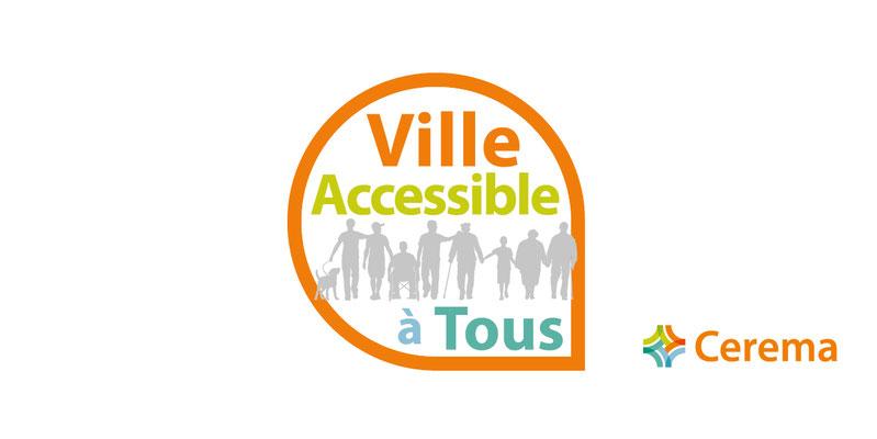 logo Ville accessible à tous CEREMA