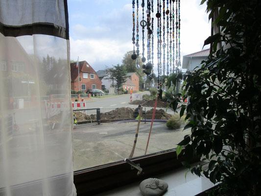 Blick aus dem Bürofenster von Manuela