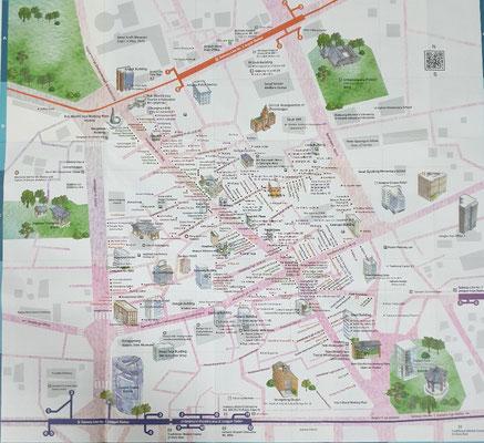 Stadtteilplan Insadong