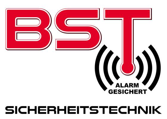BST Sicherheitstechnik Aufkleber