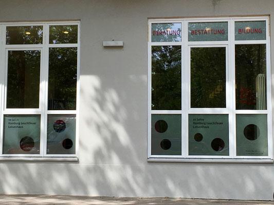 Glasdekorfolierung für Schaufenster