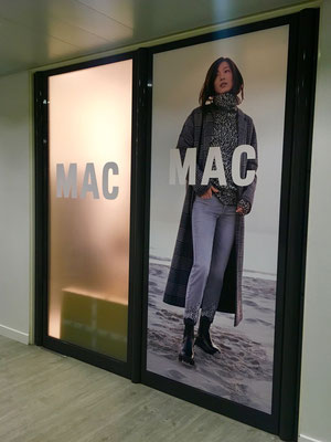 MAC Digitaldrucke für Schaufenster