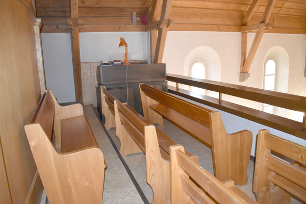Die Orgel ist nicht mehr in Betrieb.