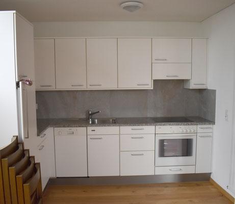 Die Küche kann mitbenutzt werden.