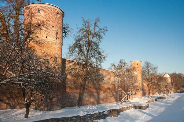 Landsberger Stadtmauer - Teilansichten