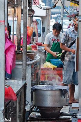 Kochen im Freien - Kuala Lumpur