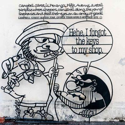 Street Art Penang George Town; Ownership