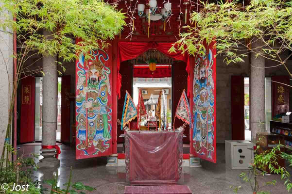 Chinese Temple  - Penang George Town