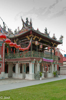 Chinese Temple and Clan House  - Penang George Town