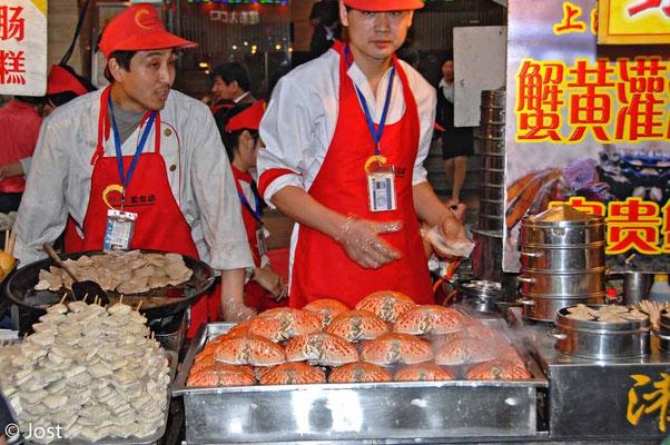 Essen am Strassenrand - China