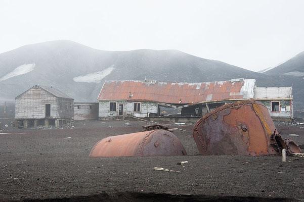 Deception Island verlassene Walfangstation