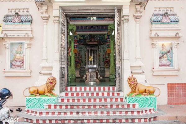 Hindu Temple  - Penang George Town