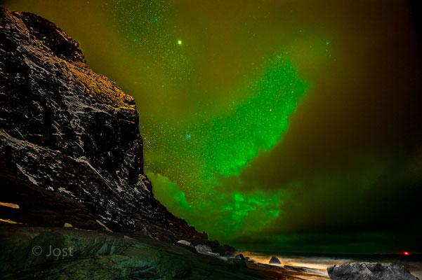 Polarlicht auf den Lofoten - Aurora borealis