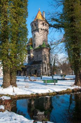 Mutterturm im Winter - Landsberg