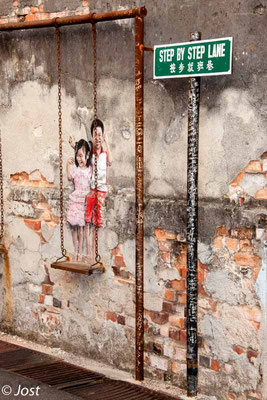 Iron Street Art  - Penang George Town