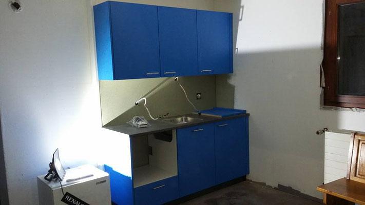 Küche in Aufenthaltsraum