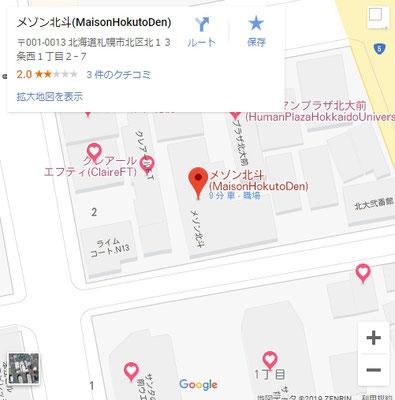 Google_Map_MaisonHokutoDen