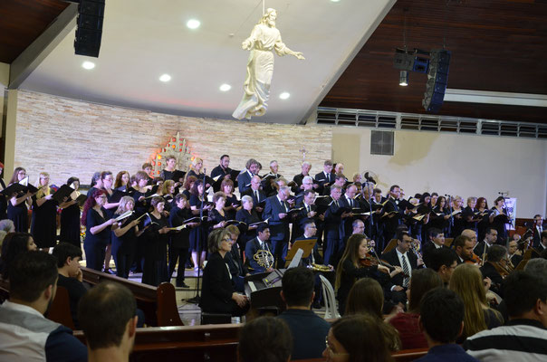 Kantorei St. Michael 2016 in Londrina / Brasil