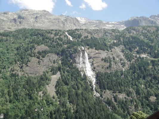 La cascade de la Fare