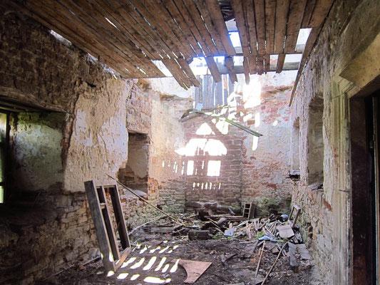 2017р. В середині синагоги.