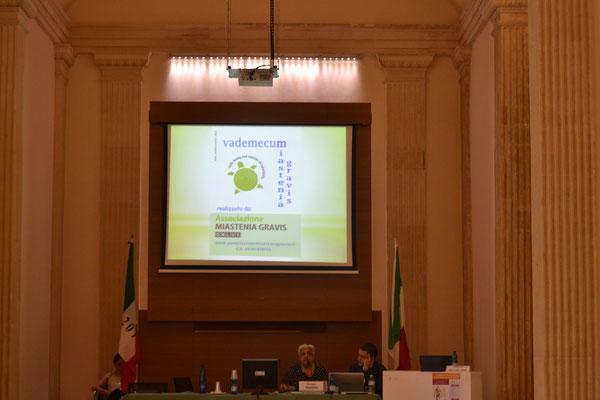 Dr.ssa Antonia Occhilupo, Pres. Associazione Miastenia Gravis ONLUS
