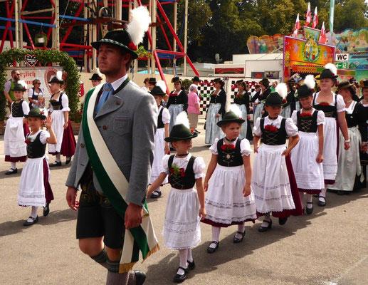 Herbstfest Rosenheim: Erntedankfestumzug
