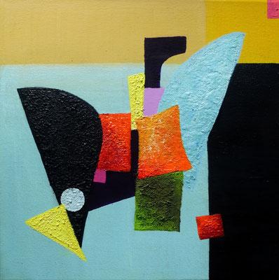 Harmony II, Acryl auf Leinwand, 20x20 cm, 100 €
