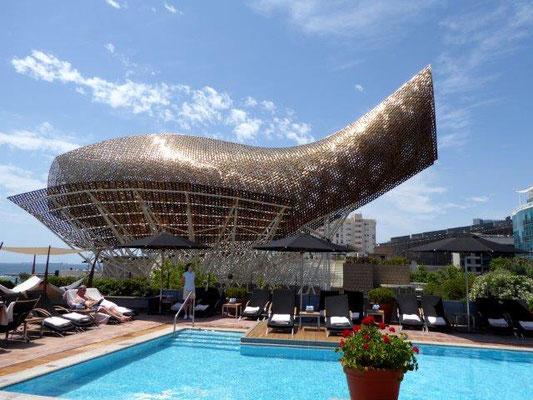 Peix (Fish), Frank Gehry an der Marina de Barcelona