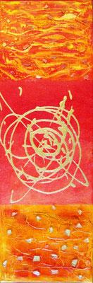 Red, Acryl auf Leinwand, 60x20cm, 150 €