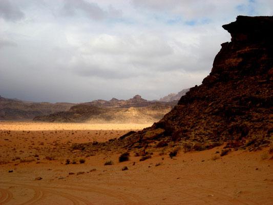 Jordanische Wüste