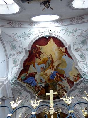 Roßackerkapelle Deckenfresko