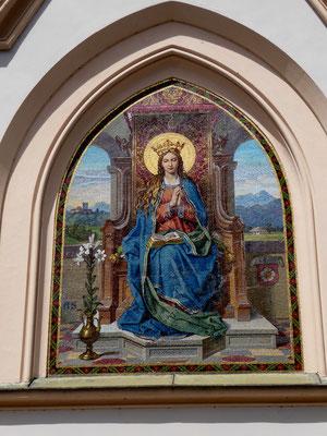 Nikolauskirche, Mosaik