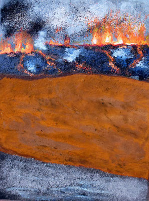 Island II, Acryl auf Leinwand, 40x30 cm, 150 €