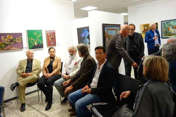 von links: Hanno Karlhuber, Susanne Steinbacher, Otto Rapp, Michael Engelhardt, Michael Maschka