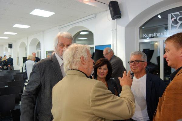 Hanno Karlhuber im Gespräch mit Günter Westermann