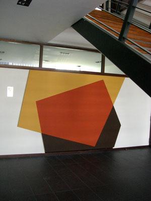 Acrylique sur toile - 300x300x5 cm