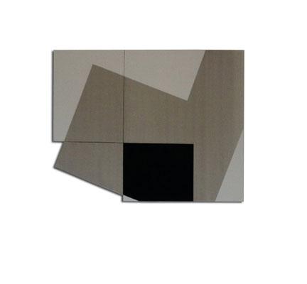 Colle de peau pigments sur toile - 150x110x4 cm