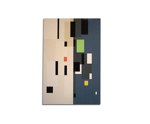 Acrylique sur toile - 120x90x4 cm