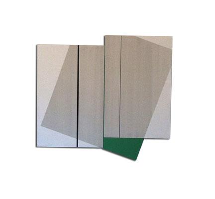 Colle de peau + pigments et acrylique sur toile - Format 140x120x4 cm