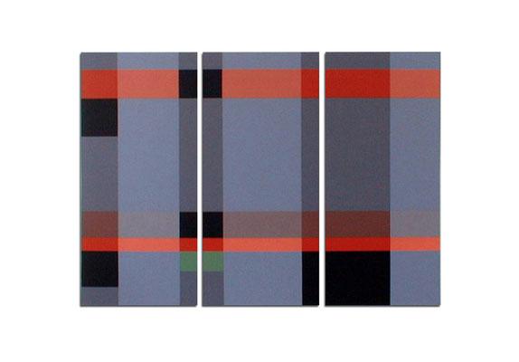 Acrylique sur toile tryptique - 150x120x4 cm