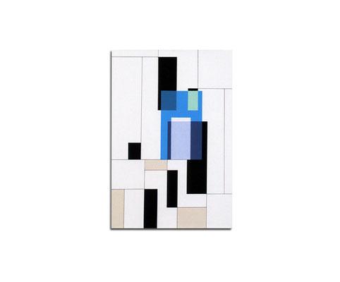 Acrylique sur toile - 90x70x4 cm