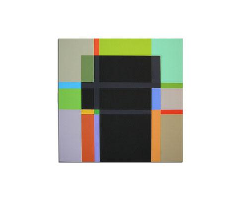 Acrylique sur toile - 90x90x4 cm
