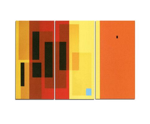 Acrylique sur toile tryptique - 130x110x4 cm