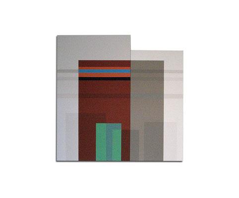 Acrylique sur toile - 110x110x4 cm
