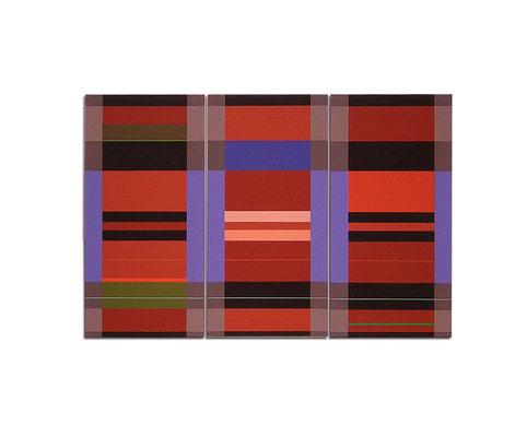 Acrylique sur toile tryptique - 120x90x4 cm
