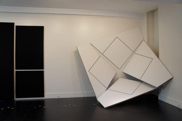 Acrylique sur toile - 250x250x70 cm