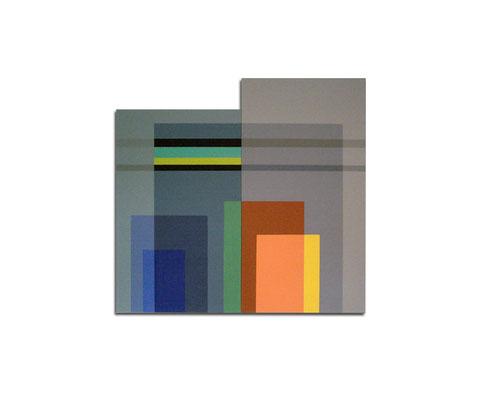 Acrylique sur toile - 100x100x4 cm