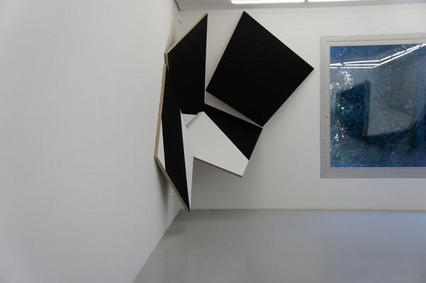 Acrylique, colle de peau et pigments sur toile - 300x450x5 cm