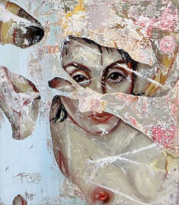 Porträt, 2002, Öl, Leinwand, 38 x 33 cm